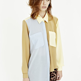 Karla Spetic - vesta, 3 colours shirt