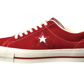 CONVERSE - ONE STAR J VTG (RED)
