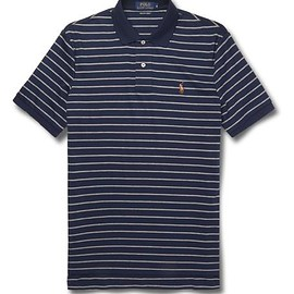Polo Ralph Lauren - Striped Pima Cotton-Jersey Polo Shirt