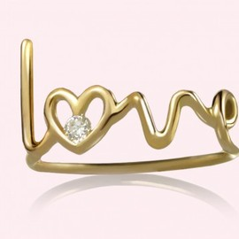 "Solange Azagury-Partridge - ""Love"" ring"