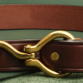 TORY LEATHER - HEAVY WEIGHT ENGLISH BRIDLE LEATHER BELT