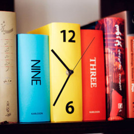 KARLSSON - Table Clock Book
