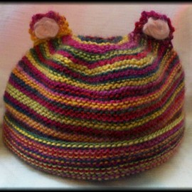 Luulla - Hand knitted baby hat