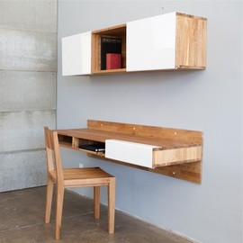 Bernard Brucha - Wall-Mounted Desk