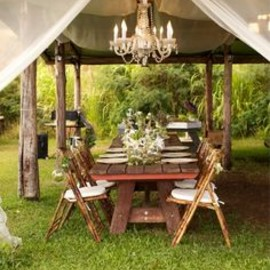 party! - outdoor dining