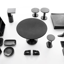 James Irvine - Black Marble furniture, Marsotto Edizioni