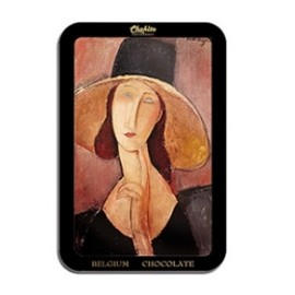 Chokito - Chocolate, Portrait of Woman in Hat