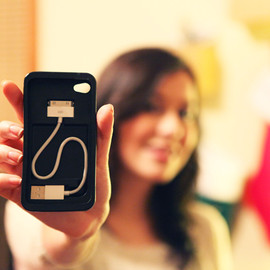 CaseInity - Cord-On-Board iPhone Case
