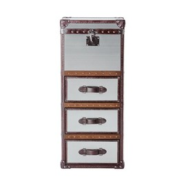 HALO - WINCHESTER TALL CHEST (BRUSHED STEEL)
