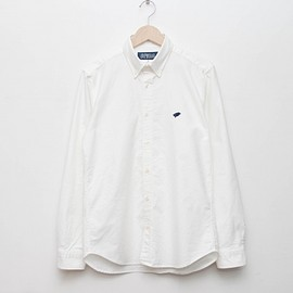 cup and cone - Oxford Shirt - White