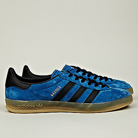 adidas originals - Gazelle Indoor in Blue x Black