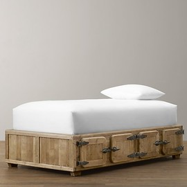 Restoration Hardware - Durant Locker Storage Bed