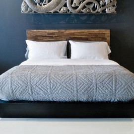 Environment Furniture - Santomer Low Headboard Bed