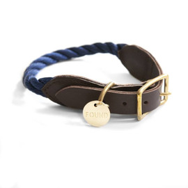 Found My Animal - navy collar