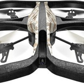 Parrot - Parrot AR.Drone 2.0 GPS Edition Quadricopter - Record HD Movies - Return Home Mode