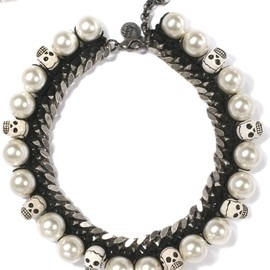 Venessa Arizaga - Scull Pearl Necklace