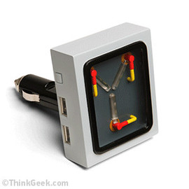ThinkGeek - Flux Capacitor Car Charger
