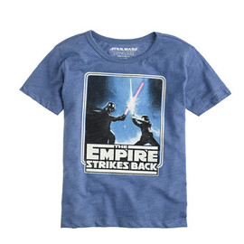 J.CREW - STAR WARS FOR CREWCUTS GLOW-IN-THE-DARK EMPIRE STRIKES BACK TEE