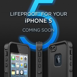 LifeProof - LifeProof iPhone 5 Case Black