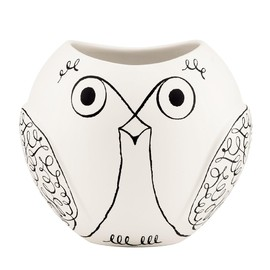 kate spade NEW YORK - woodland park animal owl vase 6.0