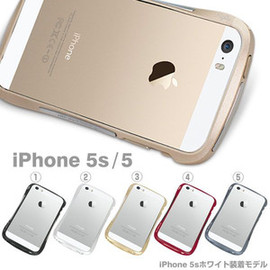 Deff - (iPhone 5s/5専用)Deff CLEAVE ALUMINUM BUMPER Mightyアルミバンパー【iPhone5s/iPhone5/アイフォン/ケース/カバー/スマホ】