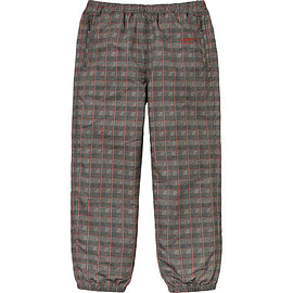 Supreme - Track Pant - Tan Glen Plaid
