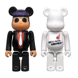 MEDICOM TOY - BE@RBRICK SOUL RED / 探偵物語 2pc set