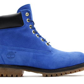 Timberland, atmos - atmos x Timberland 6inch PREMIUM BOOT BLUE SUEDE