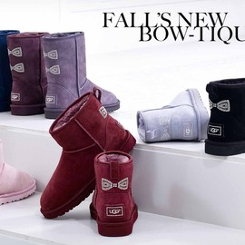 UGG - Classic Short Crystal Bow