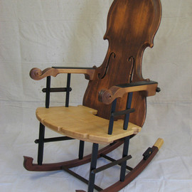 Thomas Orner Creations - Fiddle Rocker No1