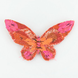 Ablgall Brown - butterfly brooch