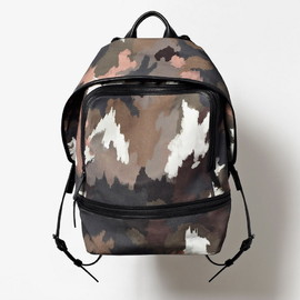 3.1 Phillip Lim - Men's Fall 2013 '31 Hour' BACK PACK in painted camo print canvas