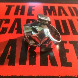 "THE MAD CAPSULE MARKETS - CCC DIGIDOG ""POCHI"" HEADLOCK シルバーリング"