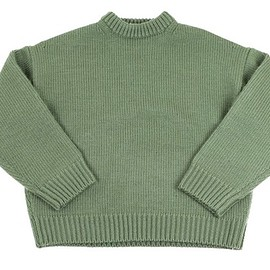AURALEE - SUPER MILLED KNIT BIG P/O