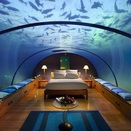 room under the water
