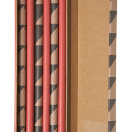 TOPSHOP - Multi Pattern Pencil Box With Pencils