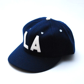 Ebbets Field Flannels - 1956 Los Angeles WOOL B.B. CAP