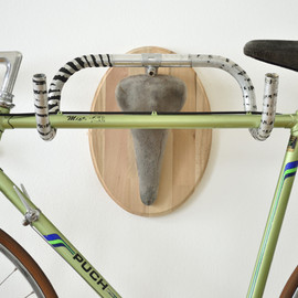 Andreas Scheiger - Upcycle Fetish - bicycle hangers