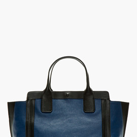 CHLOE - Navy Leather Alison East-West Tote