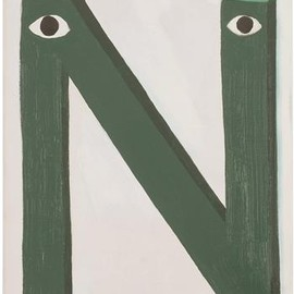 "Mathew Cerletty - Untitled ""N"", 2006"