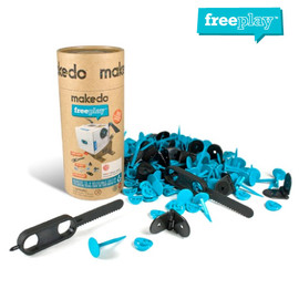 MAKEDO - FreePlay KIT for THREE (165pcs)