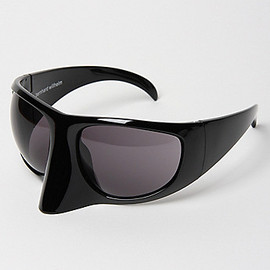 Bernhard Willhelm - Linda Farrow x Bernhard Willhelm Visor Sunglasses BLACK