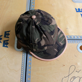 DECHO - LEATHER CAMO CAP