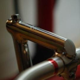 Cinelli - Cinelli underslung track stem pista for campagnolo build 100mm no Titan
