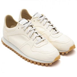 SPALWART - MARATHON TRAIL LOW FULL LEATHER WHITE