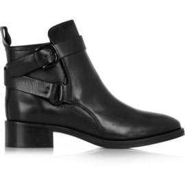 McQ, Alexander McQueen - Buckled leather ankle boots