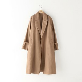 Steven Alan - COTTON MIX TWILL TAILORED COAT