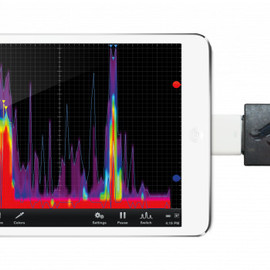 OSCIUM - WiPry-Spectrum connected to iPad Mini.