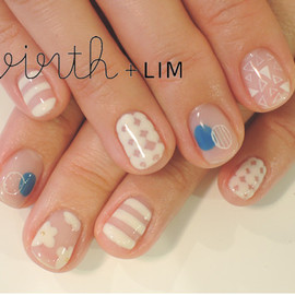 virth+LIM - hand nail  white