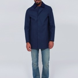 Mackintosh - Mackintosh - Dunoon Coat Navy